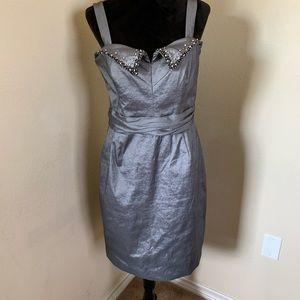 BADGLEY MISCHKA Grey Dress